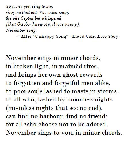 november-song-part-i