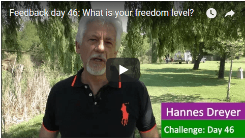 [Day 46] What Is Your Freedom Level?