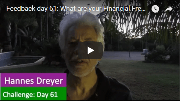 [Day 61] What Are Your Financial Freedom Results?