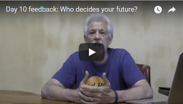[Day 10] Feedback: Who Decides Your Future?