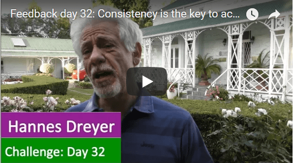 [Day 32] Consistency Is The Key To Achieve Anything You Want To Achieve In Life