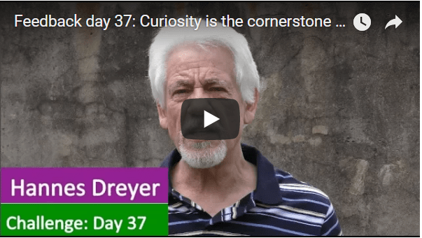 [Day 37] Curiosity Is The Cornerstone To Become Financially Free .
