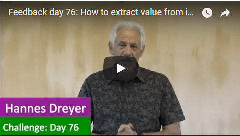 [Day 76] How To Extract Value From Ideas…