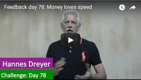 [Day 78] Money Loves Speed