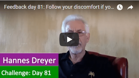 [Day 81] Follow Your Discomfort If You Want To Be Financially Free