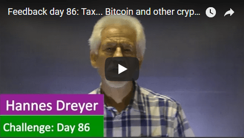 [Day 86] Tax… Bitcoin And Other Cryptocurrencies