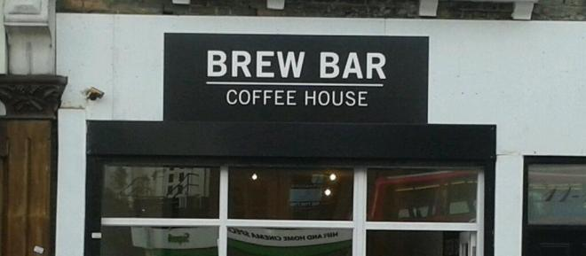 Brew Bar sign