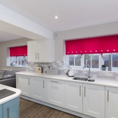 Grey Kitchen Blinds Pendant Lights For Add A Splash Of Colour With Bright Blind Web Pink Roller