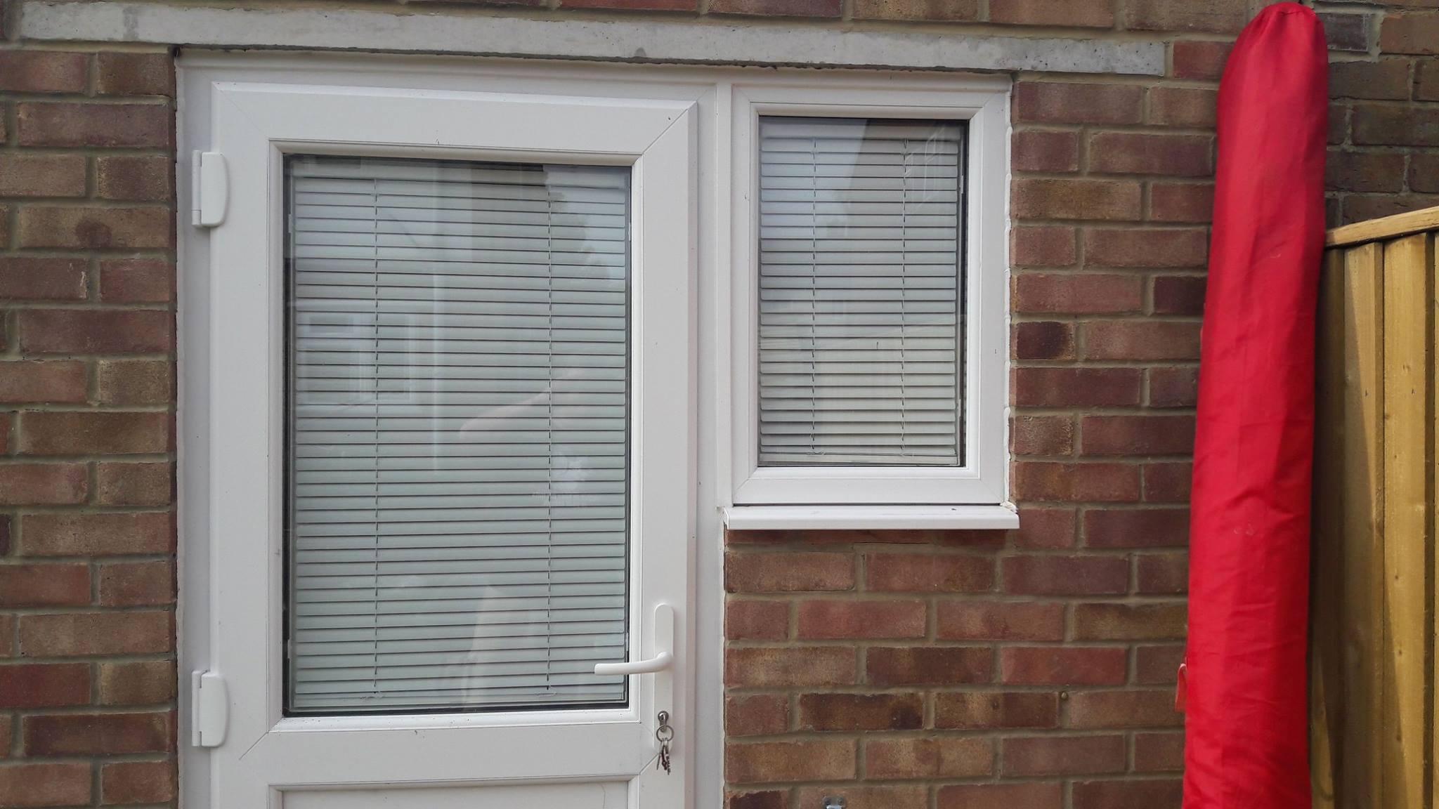 Front door blinds  WebBlinds