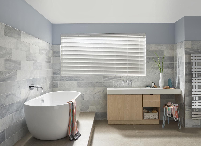 Bathroom blind ideas  WebBlinds
