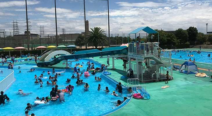 【宝塚 市民プール】2018年より料金改定。市民プールとあなどることなかれ!スライダー・流れるプール・50mプールあり
