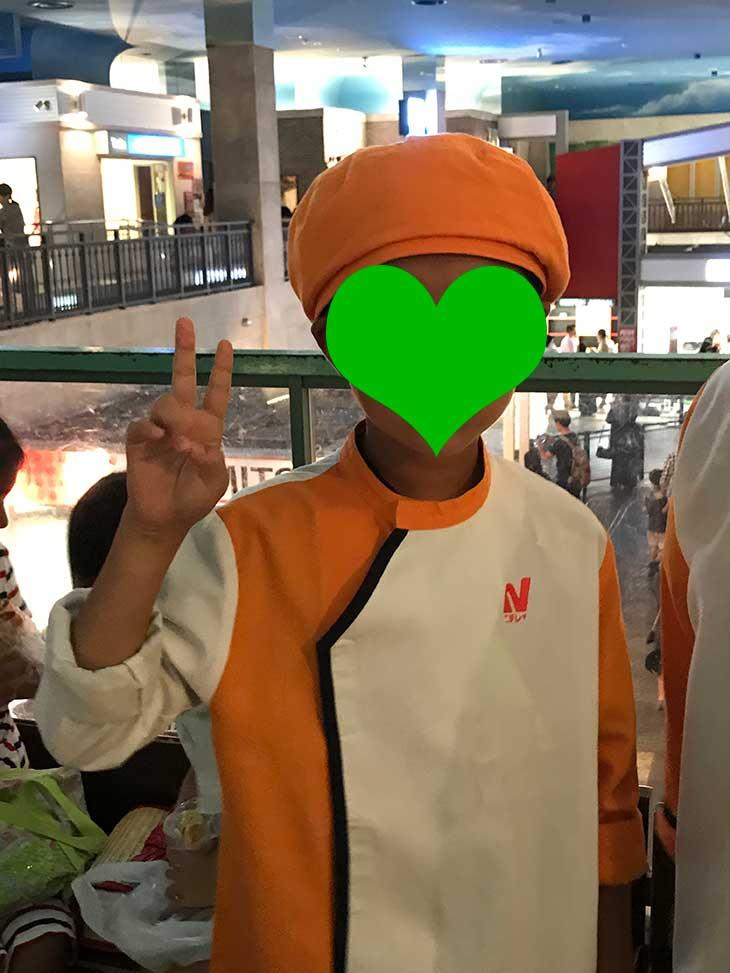 ニチレイの制服