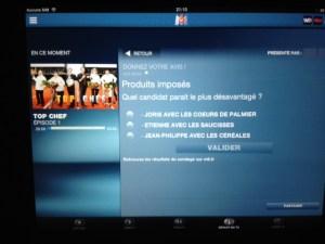 Interaction émission / tablette / tvnautes
