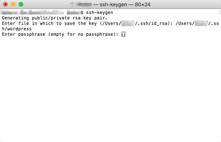 建立 SSH 金鑰 - Step 3