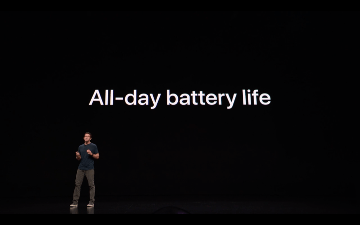 Apple Special Event - iPad - Battery