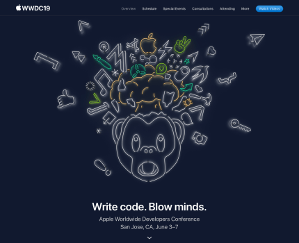 WWDC 19 – Keynote (開場與 tvOS)