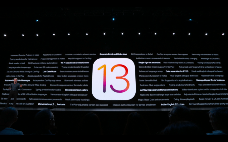 WWDC19 - iOS - All features