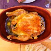 Clay Pot Chicken with 40 Cloves of Garlic