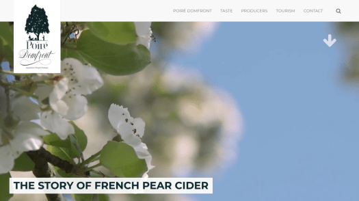 The Story of French Pear Cider