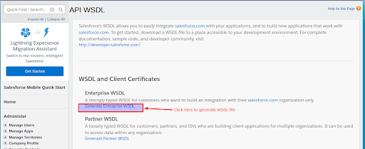 Salesforce WSDL Api login