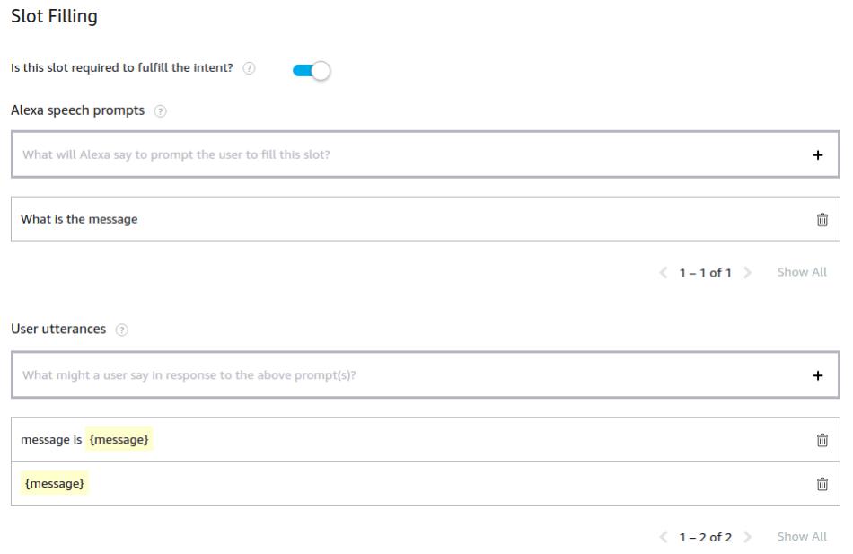 Send text message by Alexa through Twilio