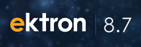 Ektron 8.7 Brings Support For Cloud Computing, SharePoint And An Improved Editor To Make Your Life Easier