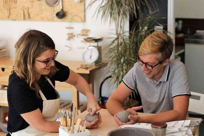 """Atelier céramique avec """"Corentin Brison"""""""