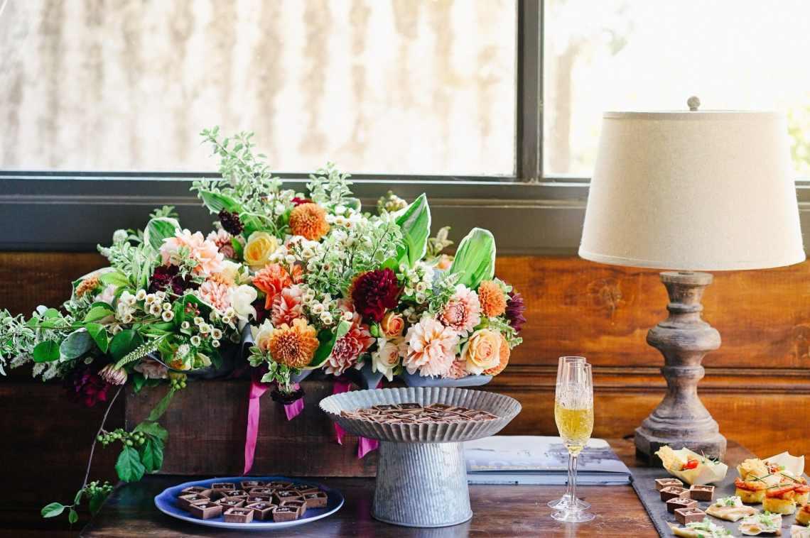 création composition florale