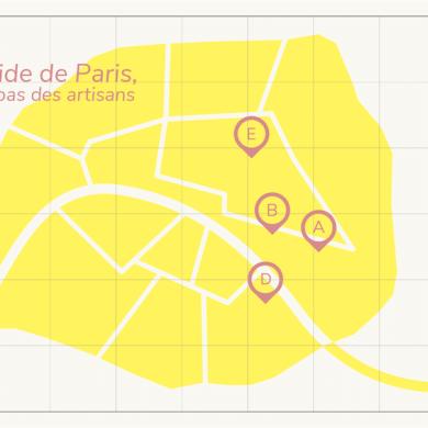 Cityguide Paris artisanat