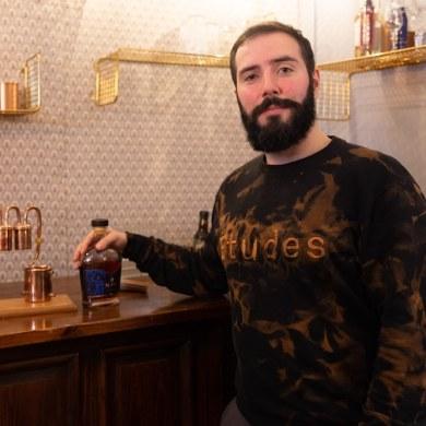 Recette cocktail de Noël par Baptiste, mixologue
