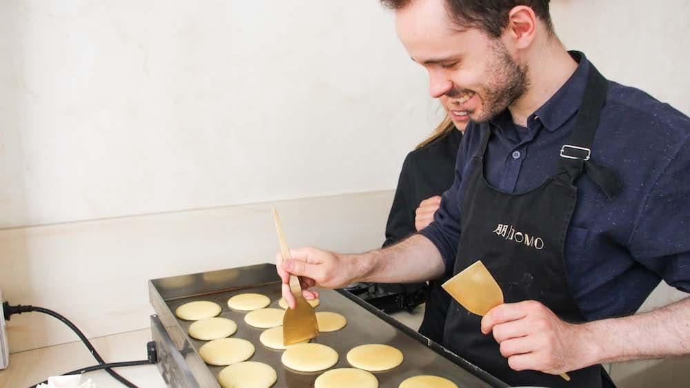 Cours de cuisine en ligne pour fabriquer des dorayakis