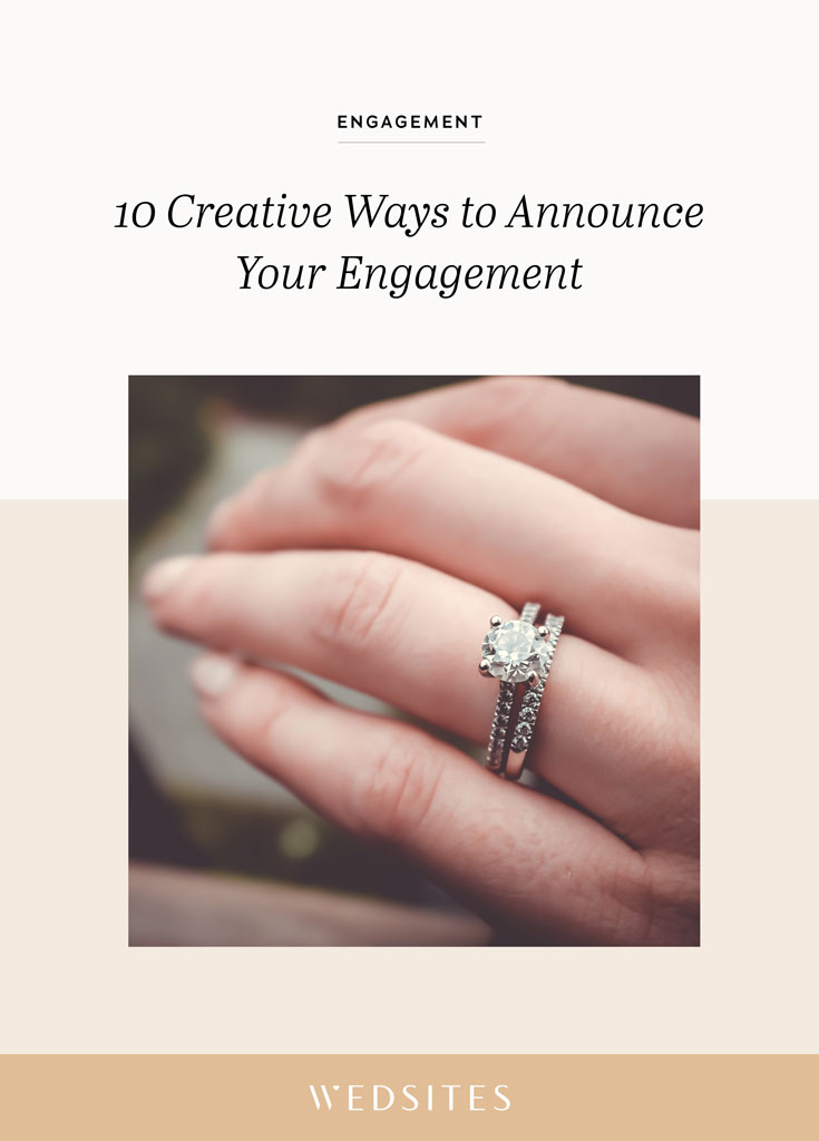 Engagement Announcement On Facebook : engagement, announcement, facebook, Creative, Announce, Engagement