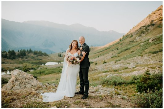 Breckenridge hiking elopement