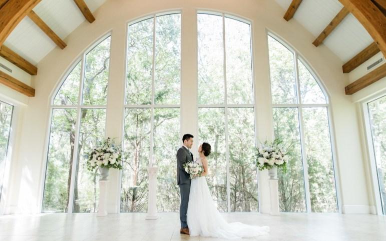 Interior of the Ashton Gardens Dallas Barn Styled Wedding Venue