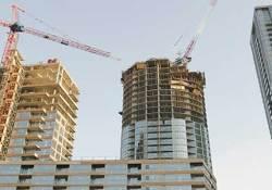 A condominium in construction