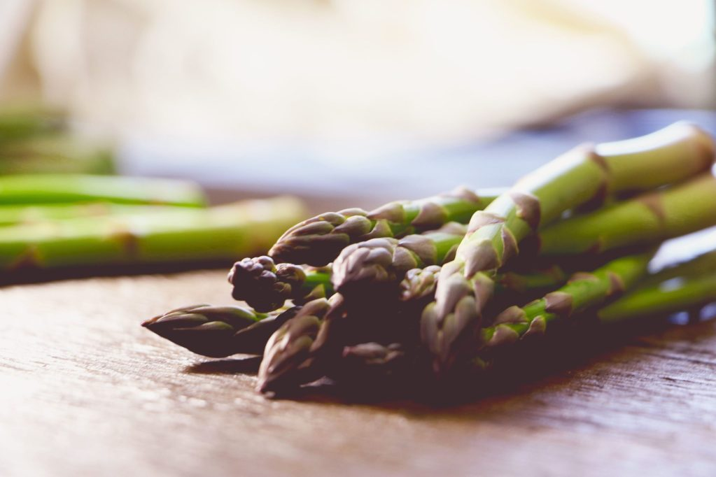 asparagus as vegetables low in carbs