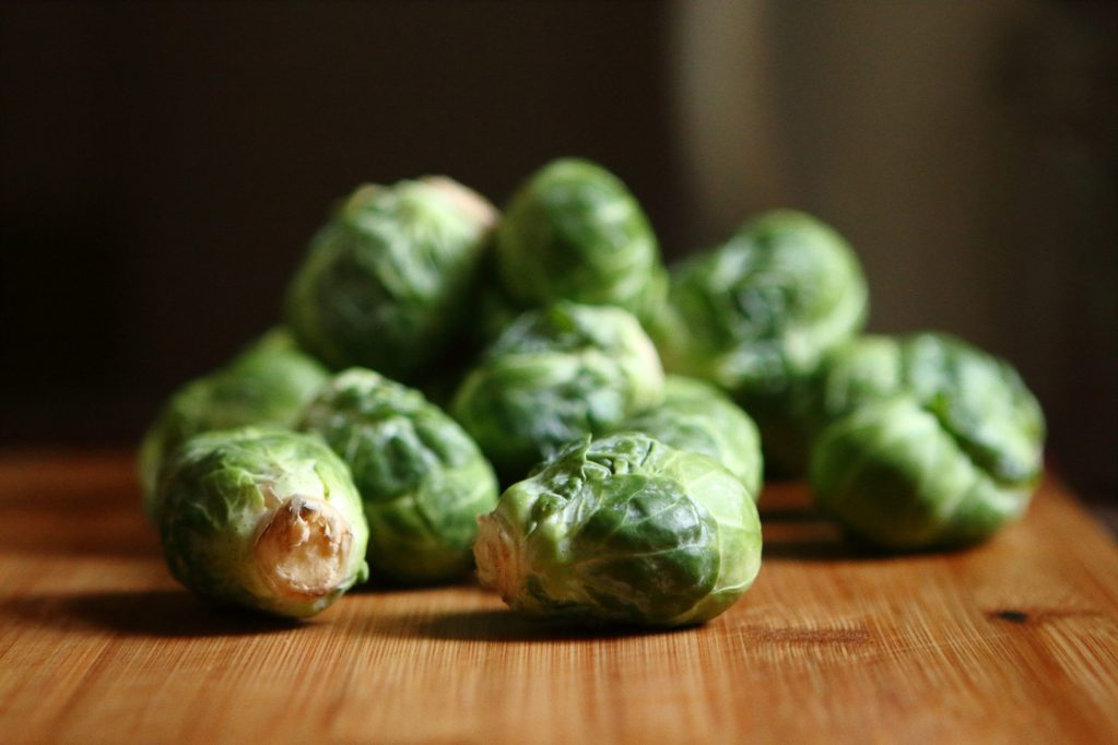 brussels sprouts as vegetables low in carbs