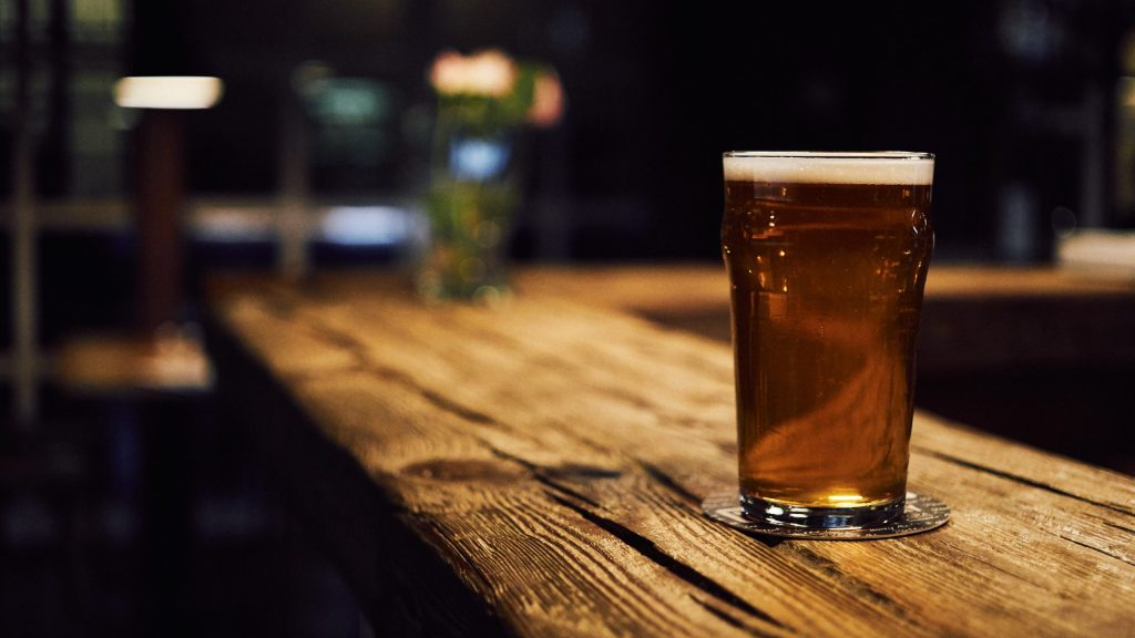 beer increases belly fat