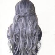 wear metallic hair color