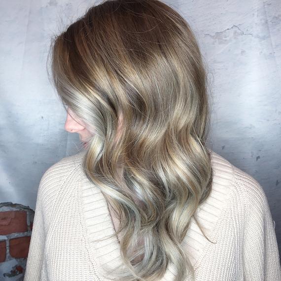7 ash blonde hair