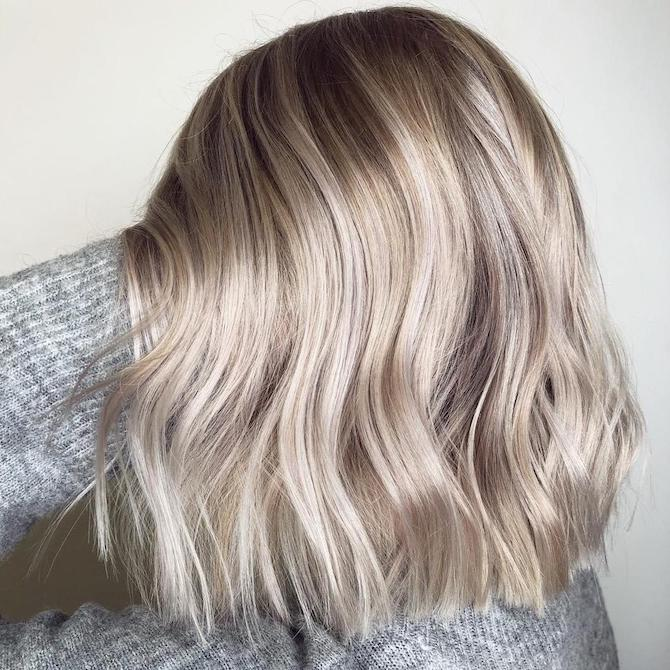 Blonde Hair Color Ash Chart Gray