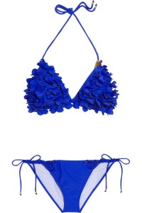 My Miu Miu bikini in royal blue from Net-a-Porter