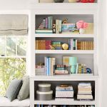 Fun Bookcase Styling