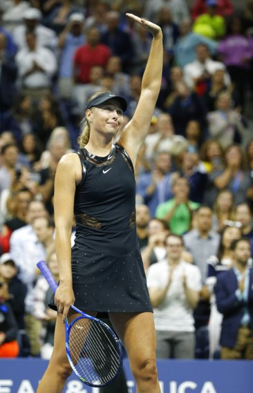 US Open fashion: Crystals, shapes and knee-high socks