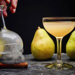 Scotch stars in this fall cocktail with pear and warm spices