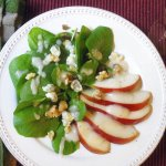 Serve Green Salad with Pear Dressing for Thanksgiving