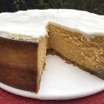 This Thanksgiving, whip up a pumpkin cheesecake with ginger