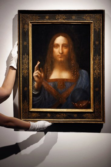 $450 million Leonardo painting heading to new Louvre museum