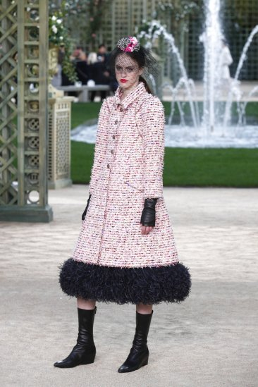 Chanel's garden delights as Givenchy designer debuts couture
