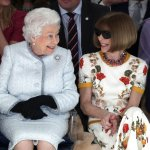 Stylish Queen Elizabeth II makes first Fashion Week visit